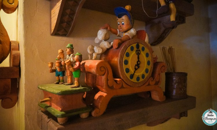 La Bottega di Gepetto - Boutique Pinocchio Disneyland Paris