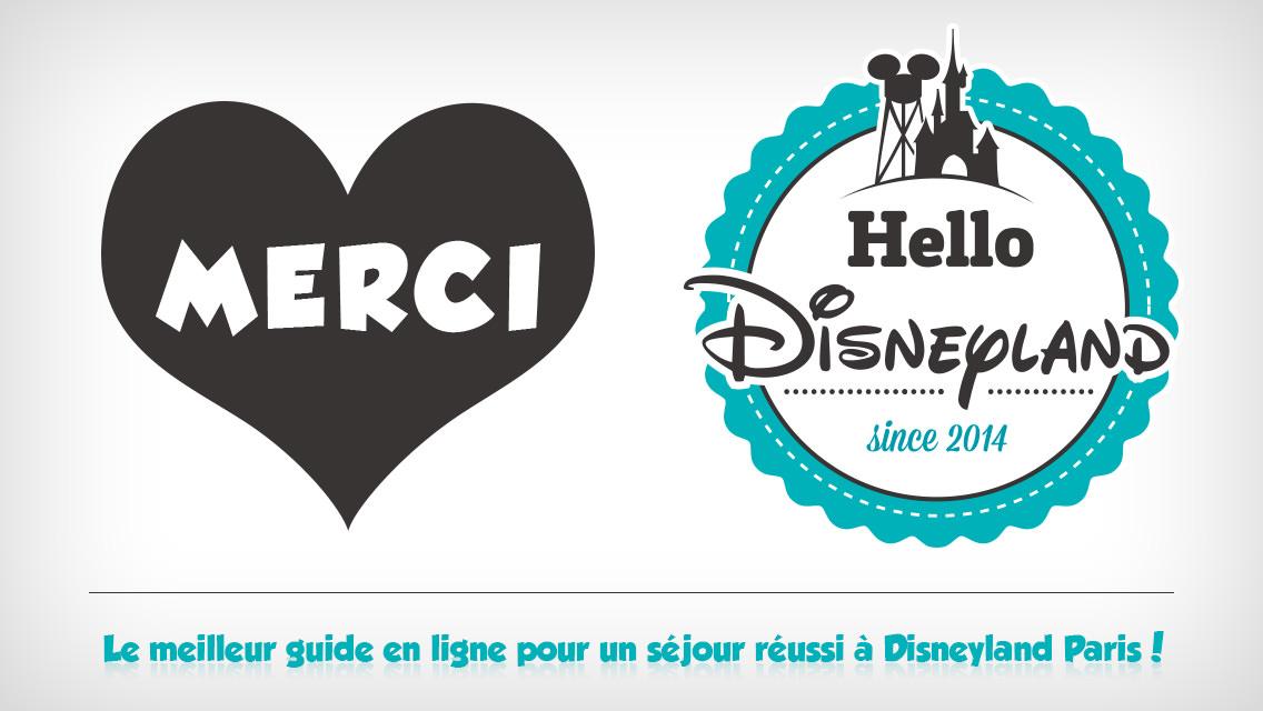Merci Hello Disneyland