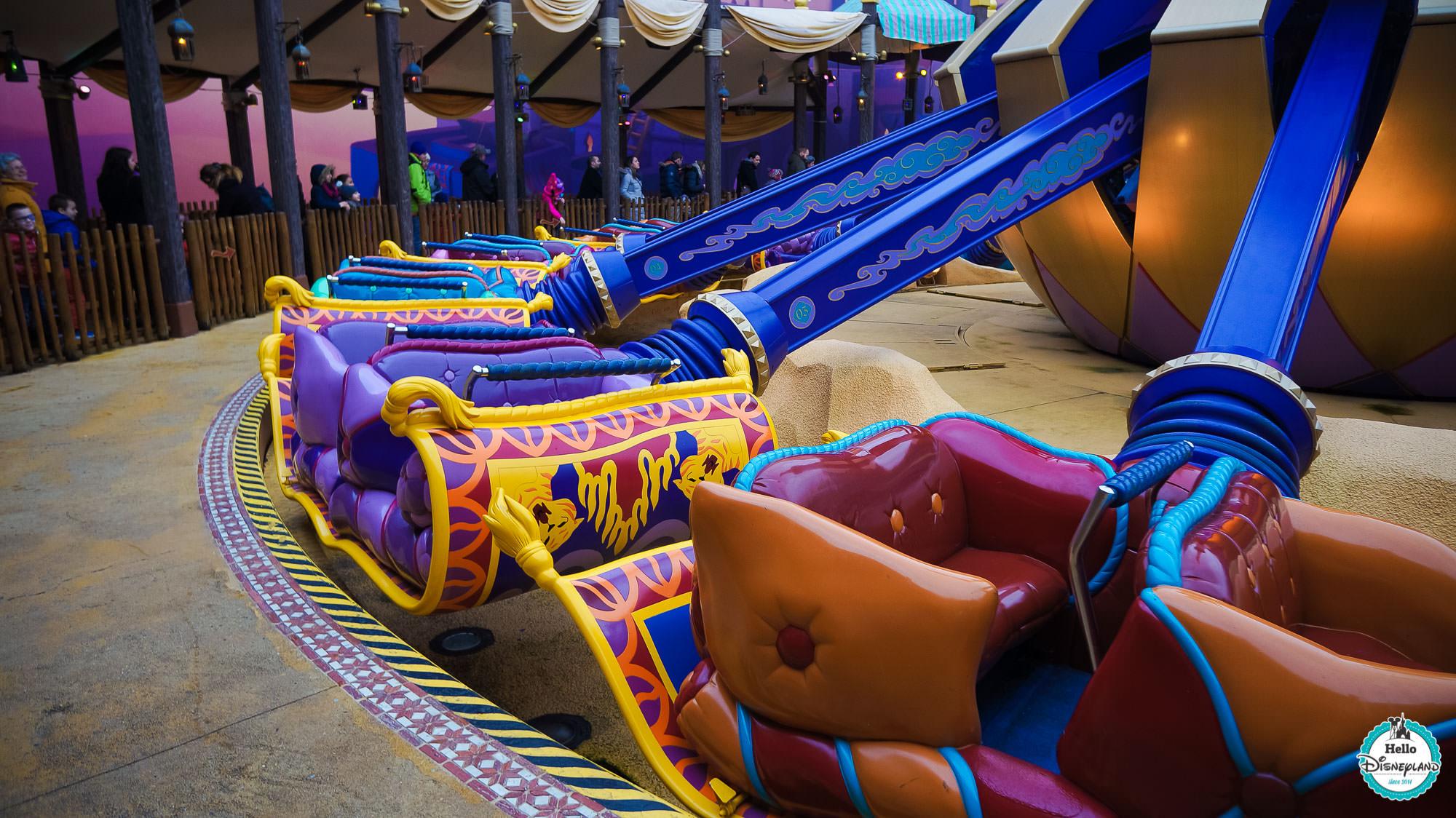 Les Tapis Volants Flying Carpets Over Agrabah