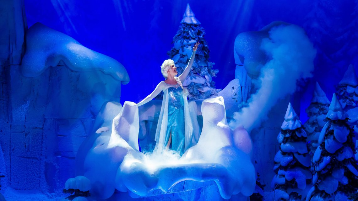 La Reine des Neiges Disneyland Paris