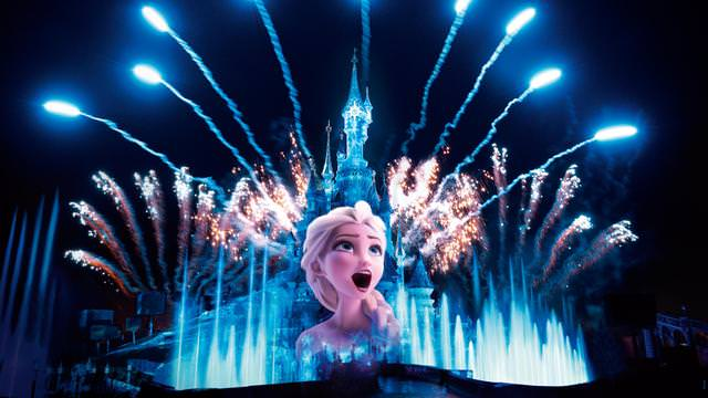 Disney Illuminations 25 ans Disneyland Paris