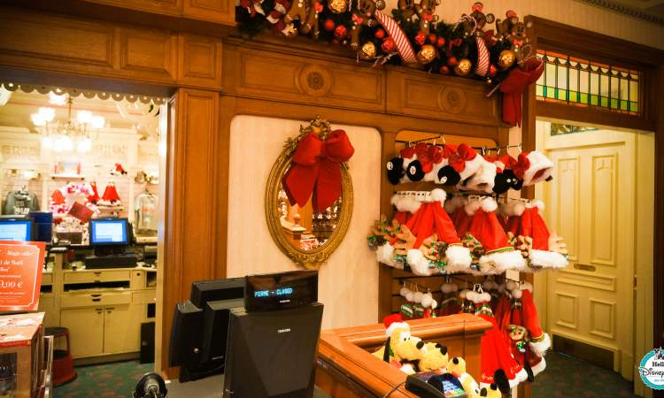 Bixby Brothers Boutique Noël Disneyland Paris