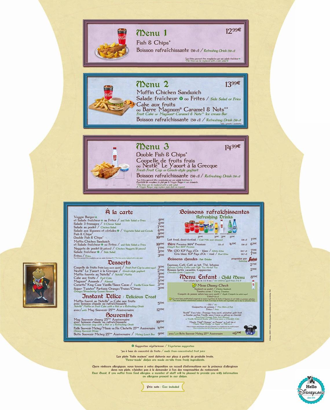 Disneyland-Paris-Restaurant-Menus-2017-Toad-Hall-1
