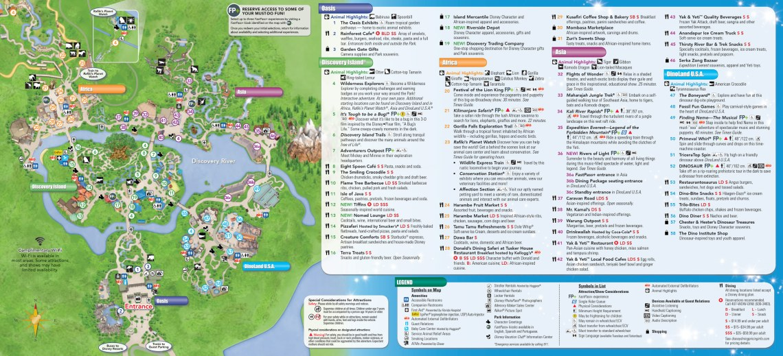 Plan Walt Disney World animal Kingdom