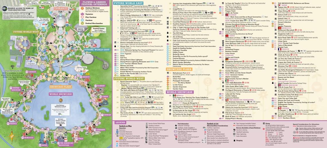 Plan Walt Disney World Epcot