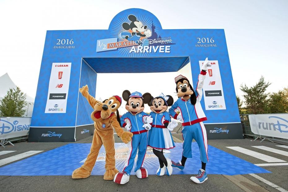 marathon disneyland paris ligne d'arrivée