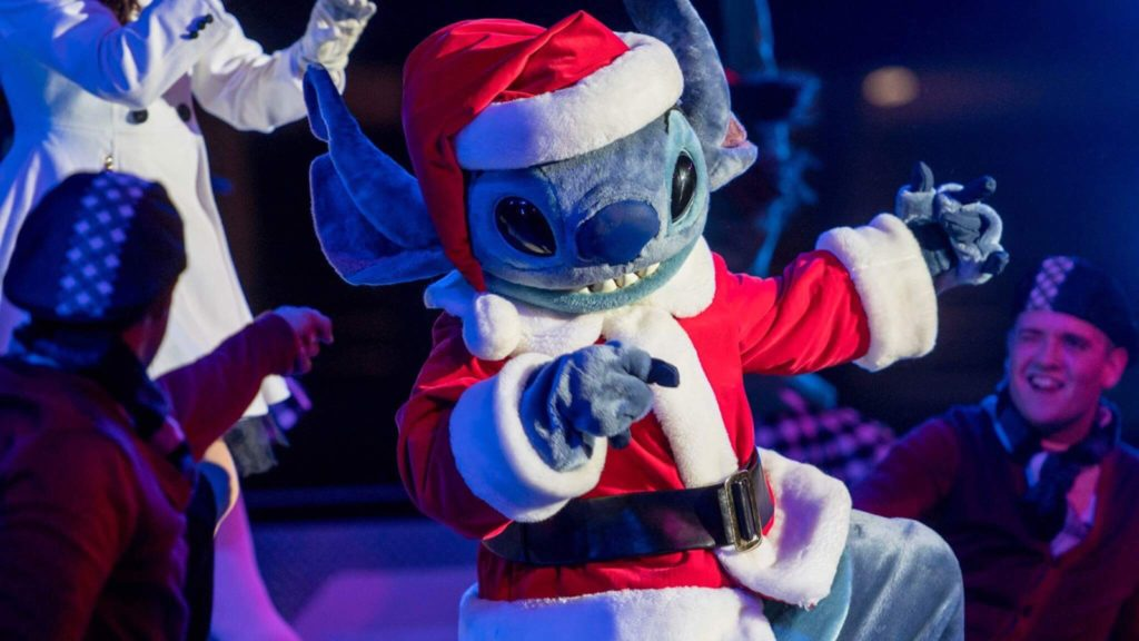 Stitch Noel Disneyland Paris