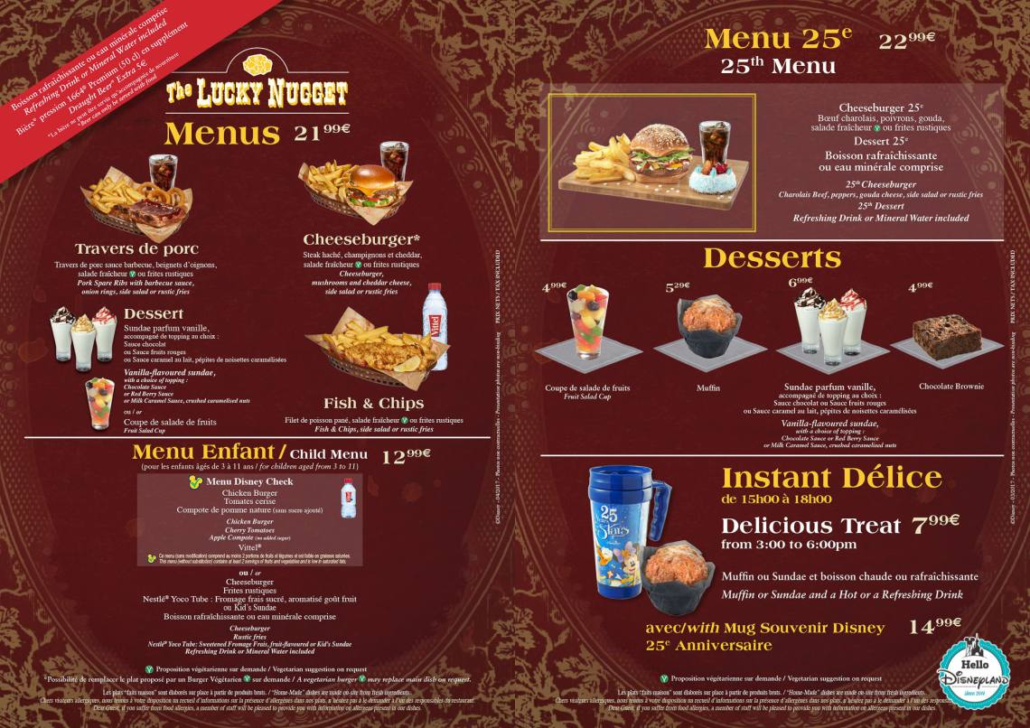 LUCKY-NUGGETS-2018-DISNEYLAND-PARIS-MENU