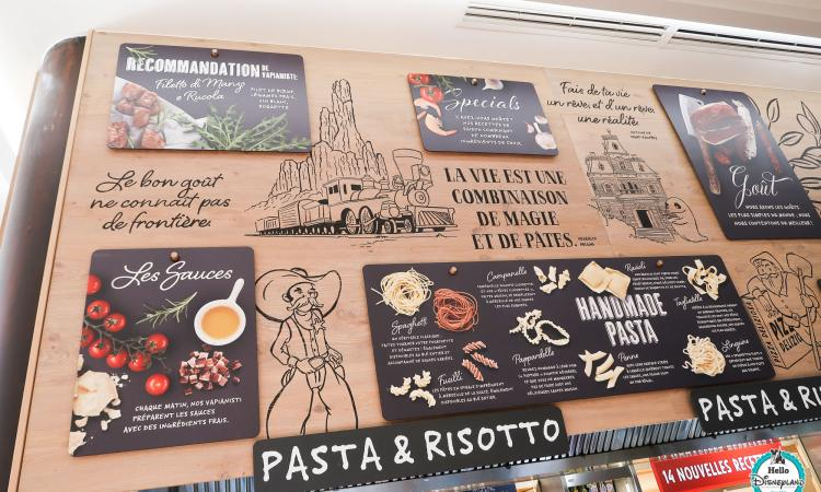 Vapiano Restaurant - Disneyland Paris