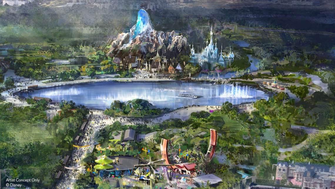 Walt-Disney-studios-Makeover-Extension-2021-FROZEN-LAND