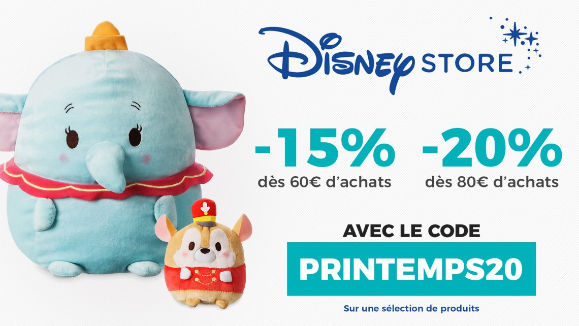 Shopping Disney : bons plans et code promos