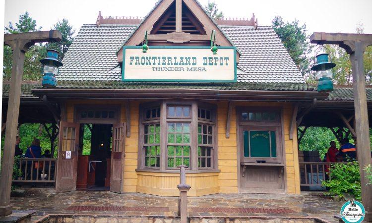 Frontierland Depot - Disneyland Paris