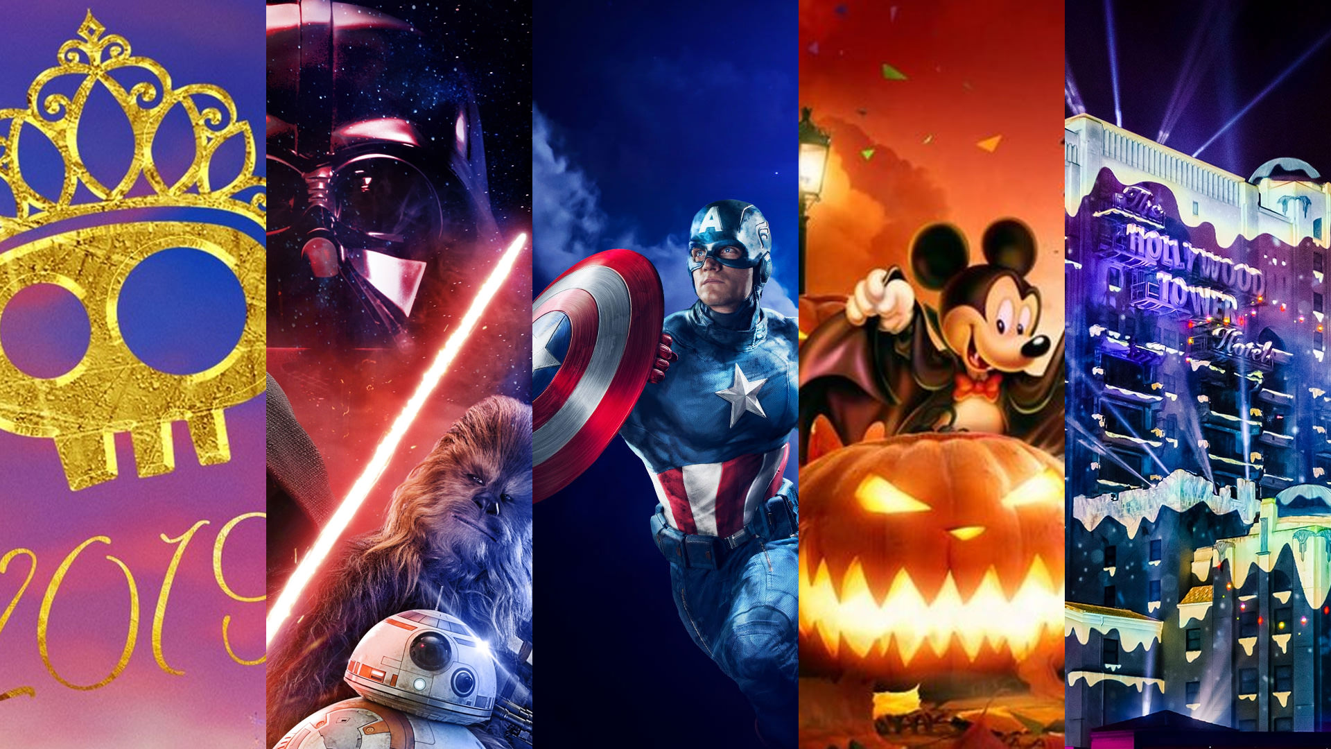 Saison Halloween Disneyland Paris 2019.Toutes Les Saisons De Disneyland Paris En 2019 Hello