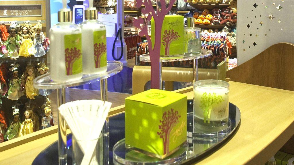 Le parfum d'ambiance Disney Store