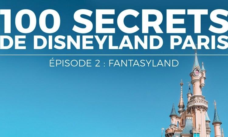 100 secrets disneyland paris fantasyland