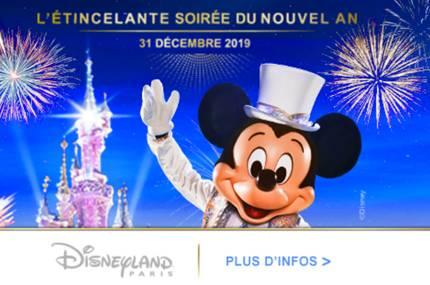 soirée Nouvel An Disney