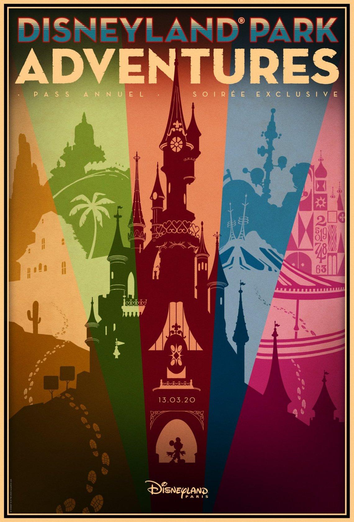 soirée pass annuel disneyland paris mars 2020