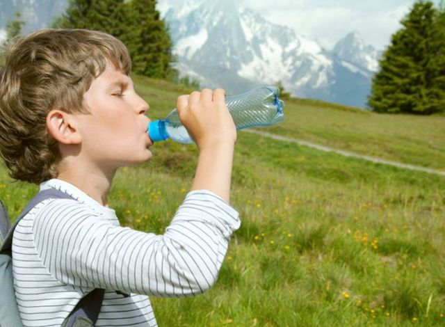 Image result for kids drinking water