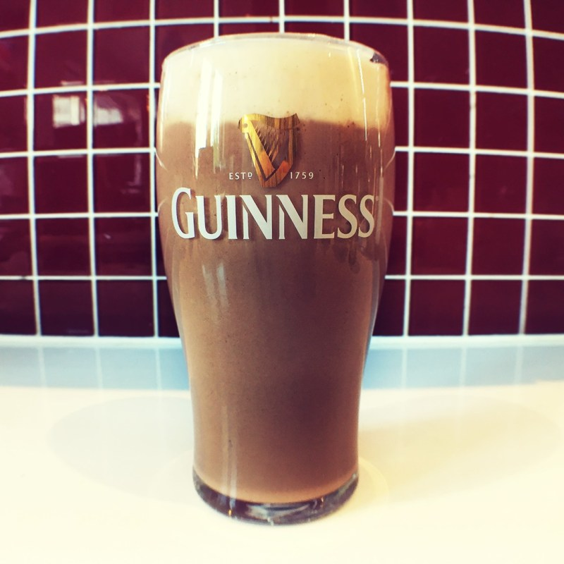 guinness proteindrink smoothie hellopetermax