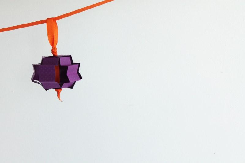 diy craft: moroccan paper lanterns