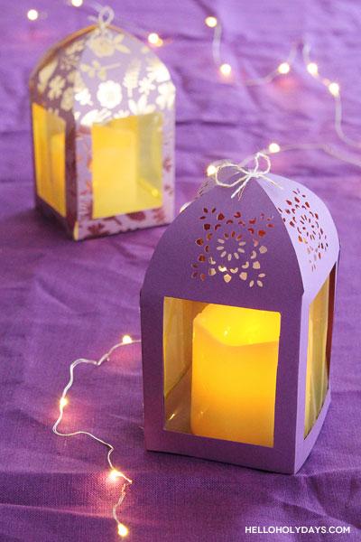 DIY Ramadan Paper Lanterns by Hello Holy Days!