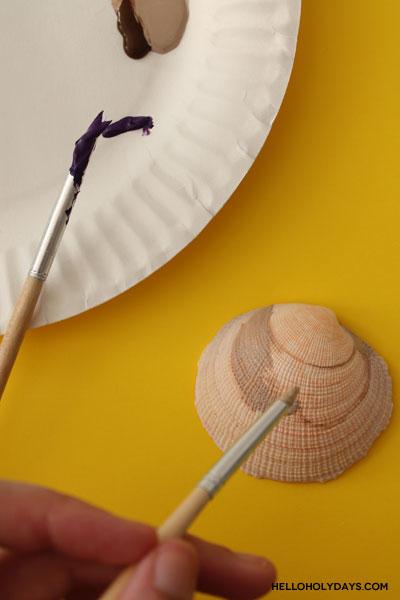 Ramadan Drummer Seashells Craft by Hello Holy Days!