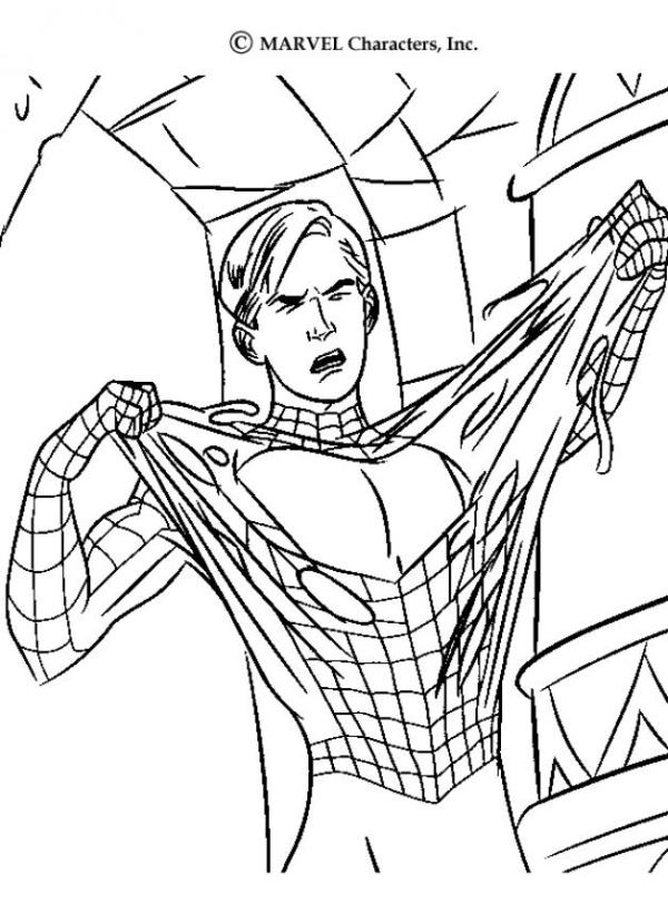spiderman coloring pages online # 77