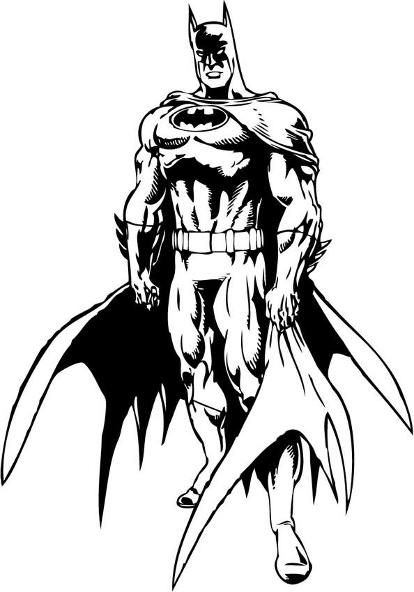 coloring pages of batman # 30