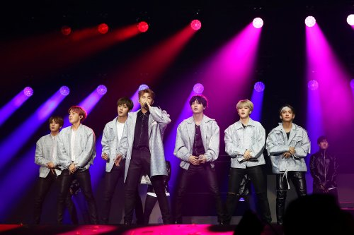 K-Pop boy band BTS touring Australia in May 2017