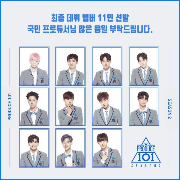 Produce 101 Season 2 Wanna One