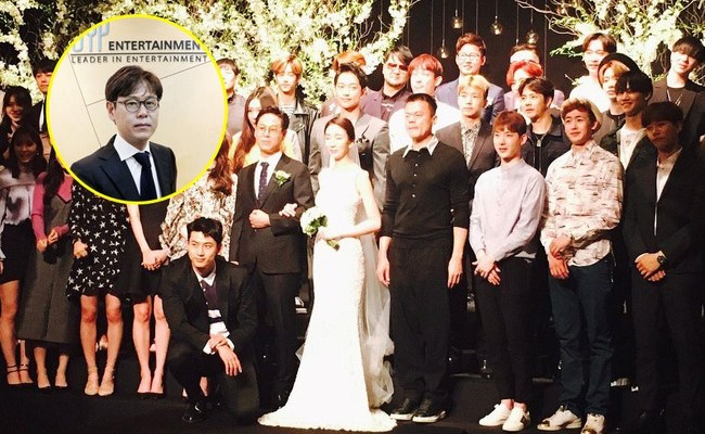 JYP Entertainment Artists Reunited At Their CEO's Wedding