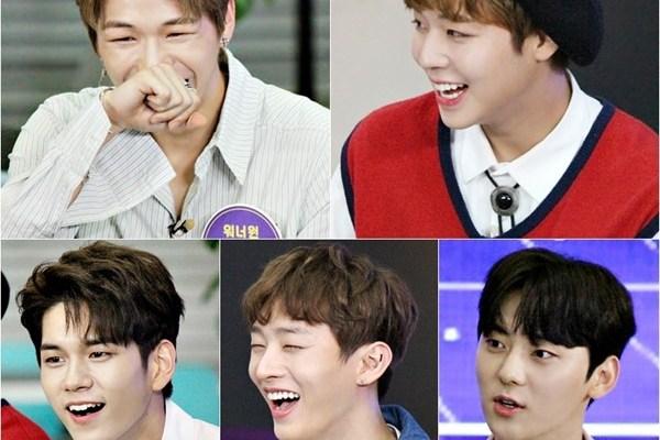 Kang Daniel, Park Jihoon, Ong Seongwu, Yoon Jisung, Wanna One, Hwang Minhyun