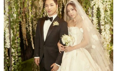 Taeyang and Min Hyo Rin Wedding