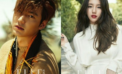 Lee Min Ho and Suzy