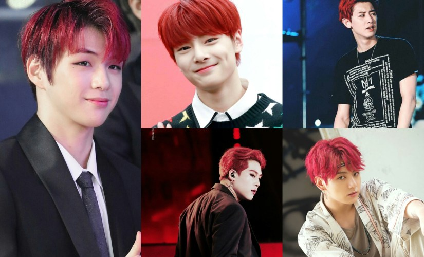 [K-Pop]: 7 Male K-Pop Idols Who Radiated Fiery Vibes With Red Hair