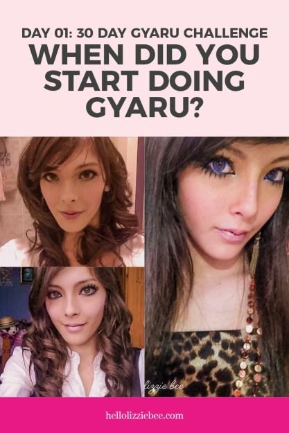 Day 1 of the 30 Day Gyaru Challenge/Meme by hellolizziebee