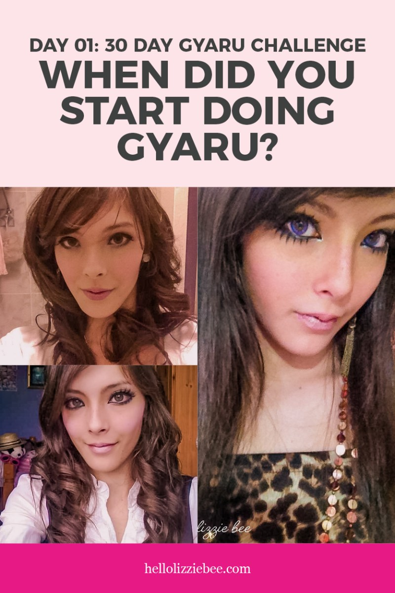 Day 1 of the 30 Day Gyaru Challenge/Meme by hellolizziebee