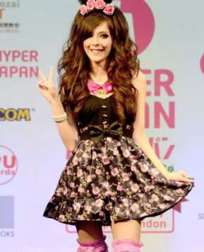 Agejo Gyaru on the Catwalk at Hyper Japan!