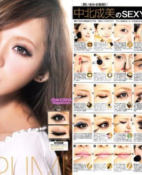 Easy Gyaru Hair & Makeup Tutorials Part Two