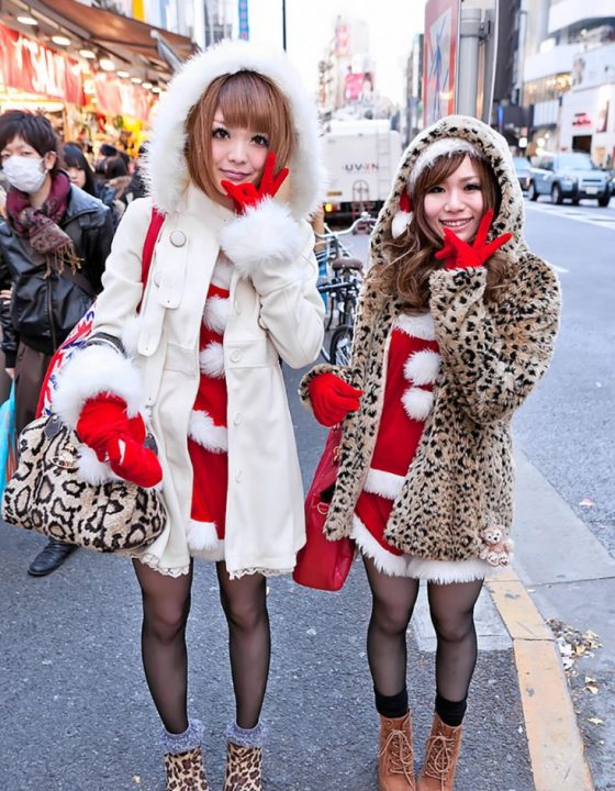Christmas Gyaru Inspiration