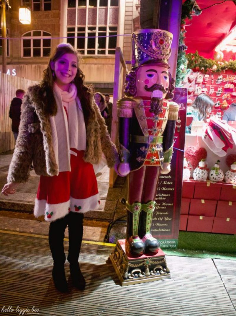 Nutcracker decoration at the Christmas Market