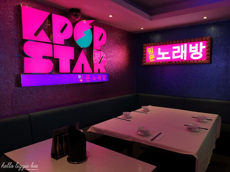 Ming Moon's 'KPop' karaoke room by hellolizziebee