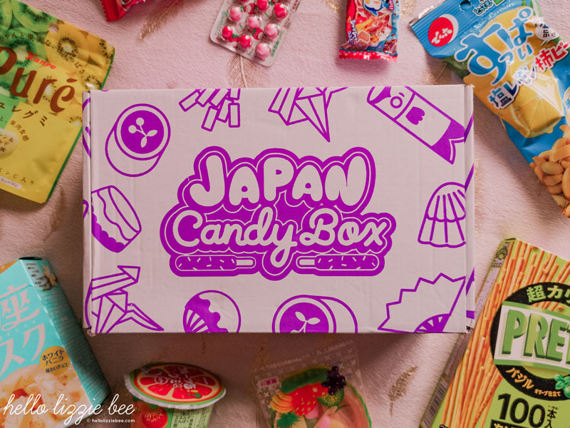 Japan Candy Box flatlay