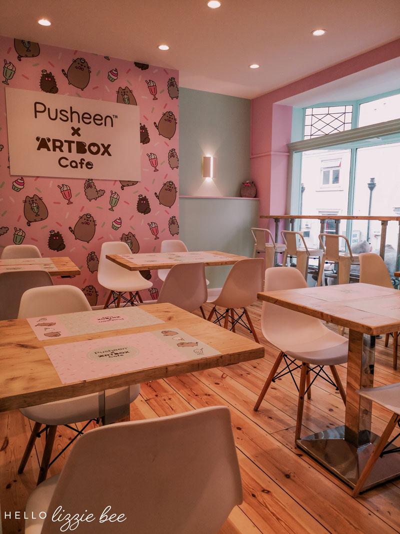 Pusheen x ARTBOX cafe