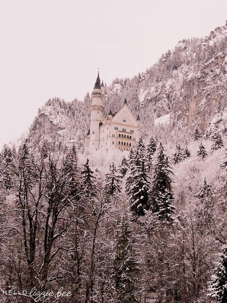 Winter in Bavaria - Neuschwanstein Castle