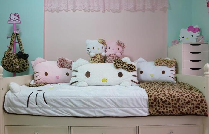 Cute hello kitty gyaru room