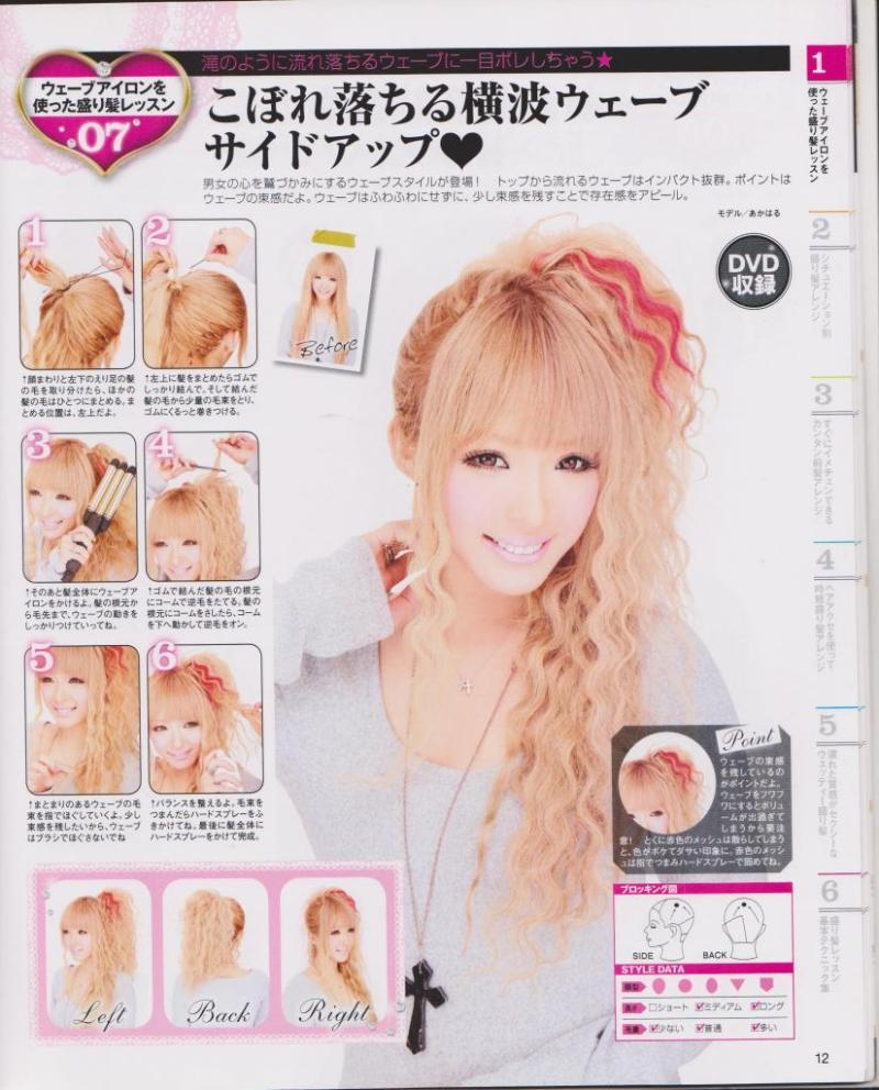 Easy gyaru hair and makeup tutorials via hellolizziebee