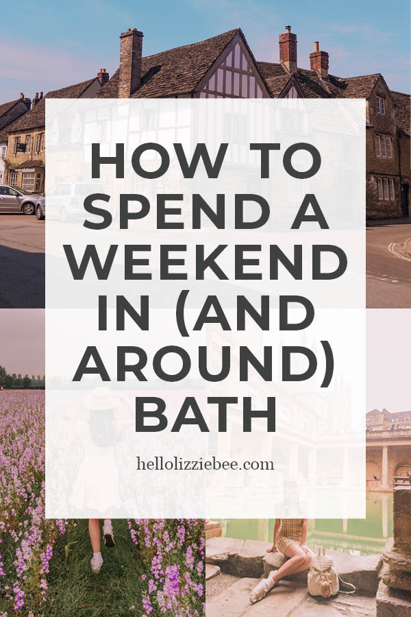 How to Spend a Weekend in (and Around) Bath, Somerset via hellolizziebe