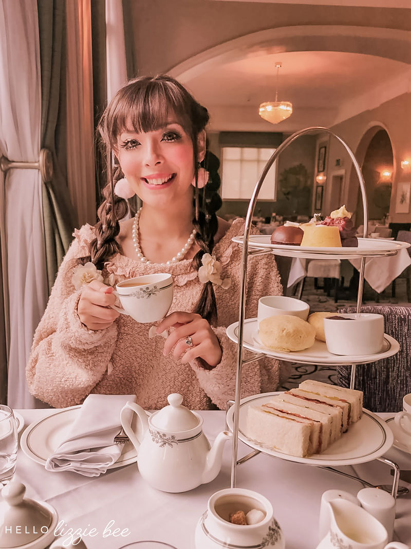 Afternoon tea at the Laura Ashley