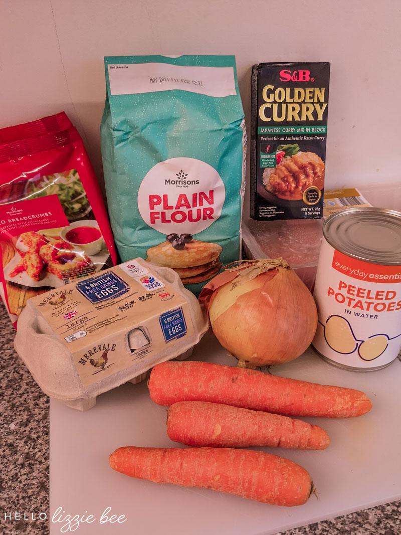 Katsu Curry Ingredients